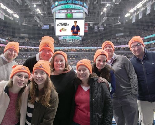 NY Islanders honor Mollie's Fund at the Barclay Center